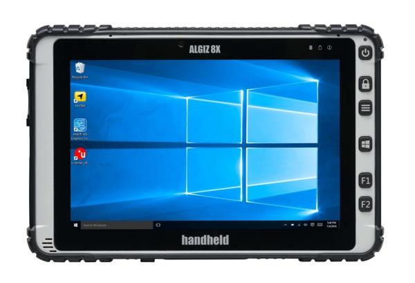Handheld Algiz 8X, 4Gb/128 Gb SSD, Windows 10, Intel Quadcore and 4G LTE